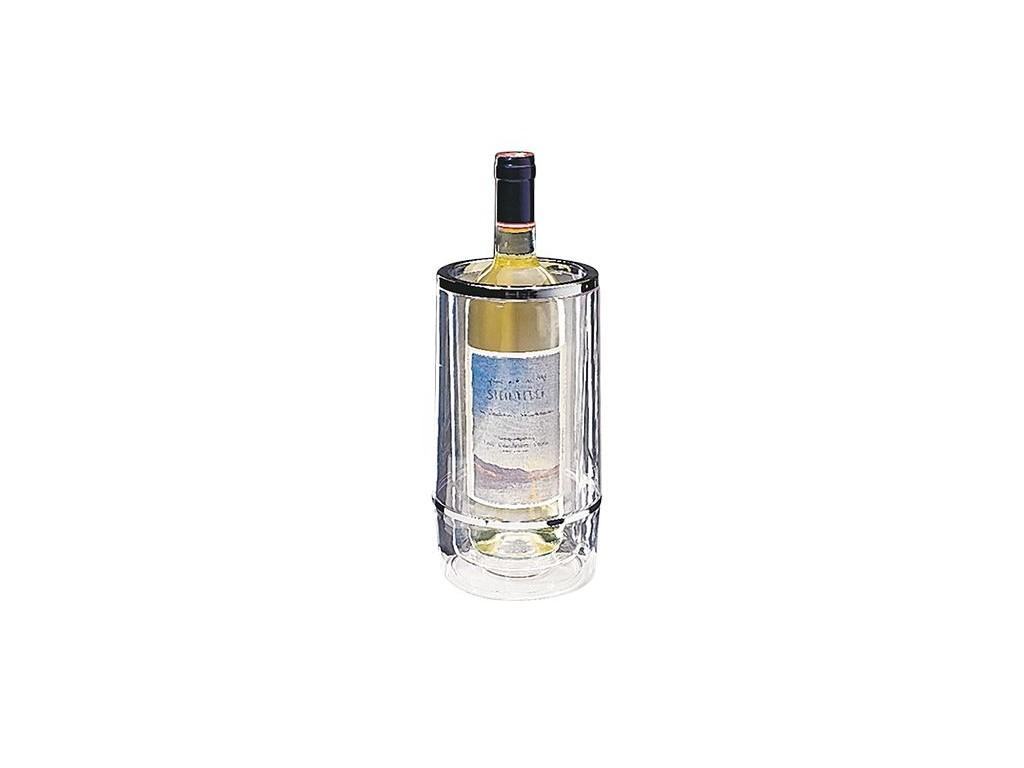 Wijnkoeler dubbelwandig transparant
