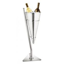 Wijnkoeler ''Chic Dinning'' RVS | Ø 32 cm.