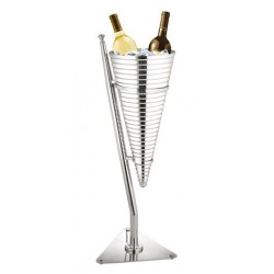 Wijnkoeler ''Chic Dinning'' RVS
