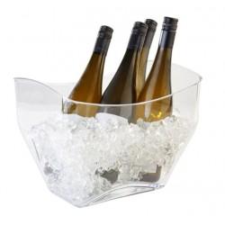 Wijnkoeler transparant 32×21,5xH24,5 cm