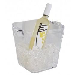 Wijnkoeler transparant 20x20x20cm