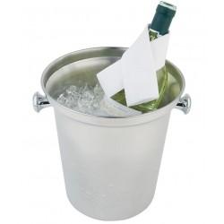 Wijn-/ champagnekoeler RVS
