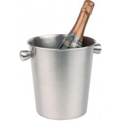 Wijnkoeler Champagnekoeler RVS Mat | Ø 20 cm.