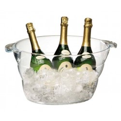 Wijnkoeler/Champagne bowl transparant