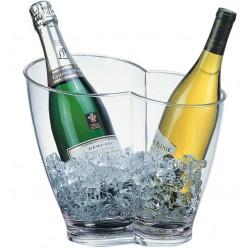 Wijnkoeler Champagnekoeler | Transparant