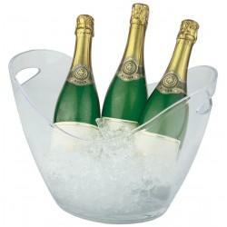 Wijnkoeler Transparant | 6 liter